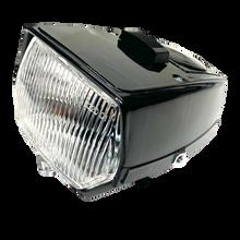 Euro Style Black Moped Headlight