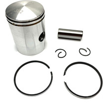 Stock Bore 38.2mm Piston for Vespa Piaggio Mopeds - 12mm Wrist Pin