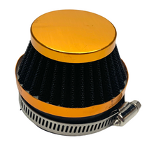 Orange 60mm Cone Air Filter for Dellorto SHA Carburetors