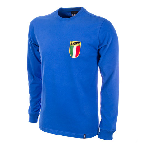 Italy 1970's Long Sleeve Retro Shirt 100% cotton