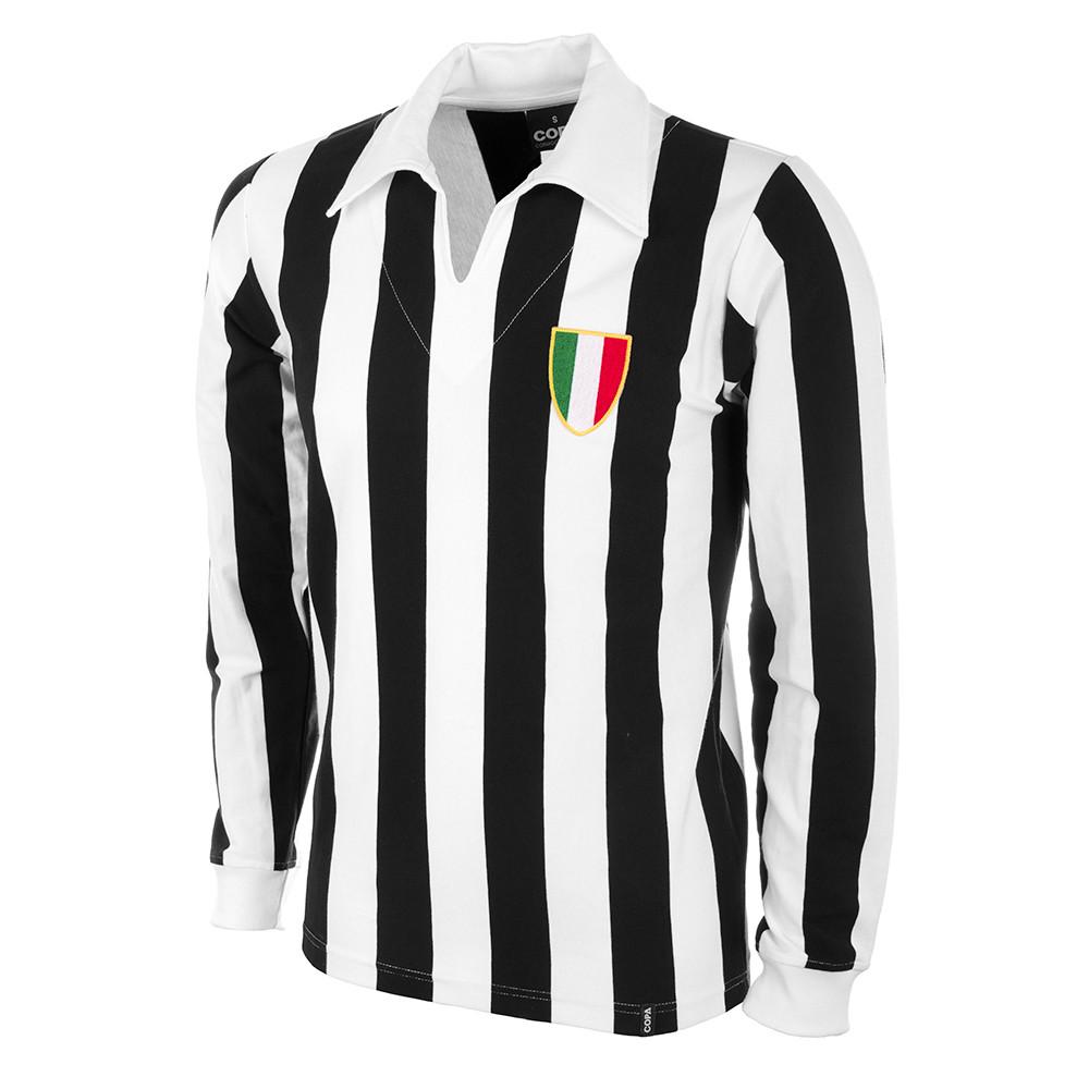 9a1ee1da Juve 1960's Long Sleeve Retro Shirt 100% cotton