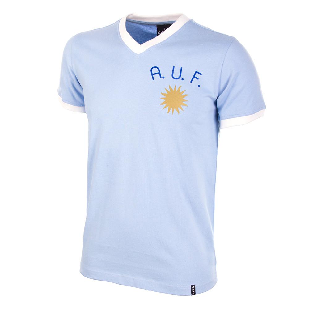 0ec67faf85 Uruguay 1970's Short Sleeve Retro Shirt 100% cotton