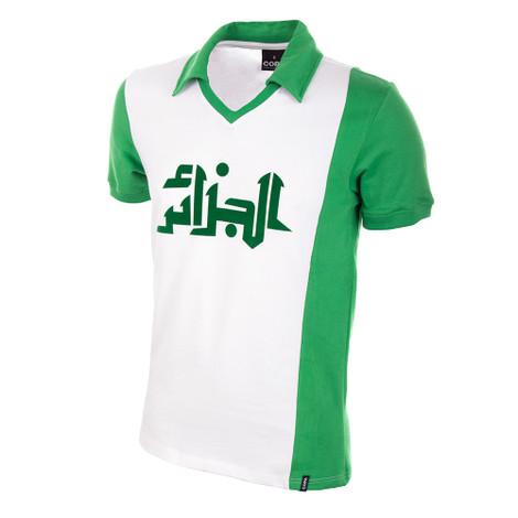 9a9cbc3f9 Algeria WC 1982 Short Sleeve Retro Shirt 100% cotton