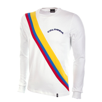 Colombia 1973 Long Sleeve Retro Shirt 100% cotton