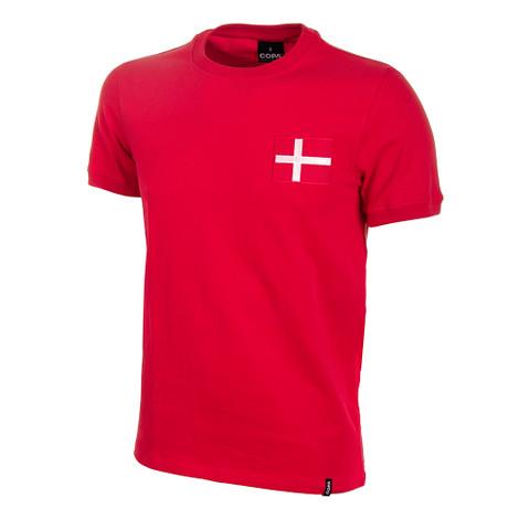 Retro Football Shirts - Denmark Home Jersey 1970's - COPA 641