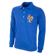 France 1950's Long Sleeve Retro Shirt 100% cotton