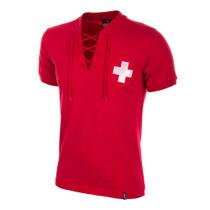 Switzerland WC 1954 Short Sleeve Retro Shirt 100% cotton