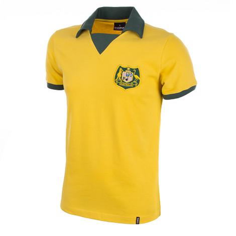 Australia WC 1974 Short Sleeve Retro Shirt 100% cotton