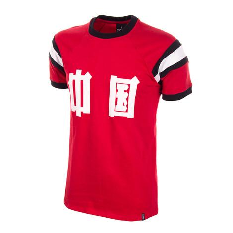 China 1982 Short Sleeve Retro Shirt 100% cotton