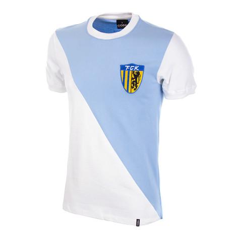FC Karl-Marx-Stadt 1976/77 Short Sleeve Retro Shirt 100% cotton