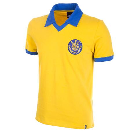 1. FC Lok Leipzig 1980's Short Sleeve Retro Shirt 100% cotton