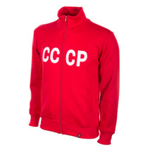 Retro Football Jackets - Russia CCCP Tracksuit Top 1970's - COPA 802