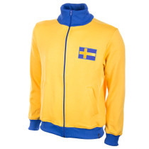 Retro Football Jackets - Sweden Tracksuit Top 1970's - COPA 804