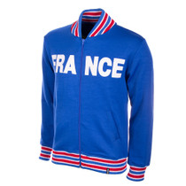 Retro Football Jackets - France Tracksuit Top 1960's - COPA 812