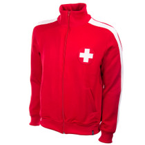 Retro Football Jackets - Switzerland Tracksuit Top 1960's - COPA 817