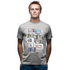 TV Glorious Moments T-Shirt // Grey Mêlée 100% cotton