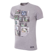 Football Fashion - TV Glorious Moments T-Shirt - Grey - COPA 6379