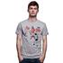 6 Vs. 10 T-Shirt // Grey Mêlée 100% cotton