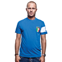 Italy Capitano T-Shirt // Blue 100% cotton