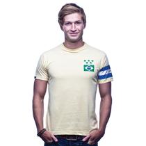 Brasil Capitão T-Shirt // Yellow 100% cotton