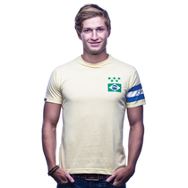 Retro Football Shirts - Brazil Captain T-Shirt - COPA 6553