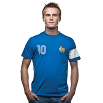 Retro Football Shirts - France Capitaine T-Shirt - COPA 6554