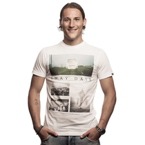Away Days T-Shirt // White 100% cotton