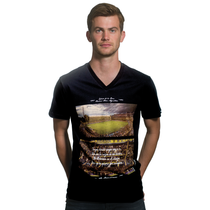 Football Fashion - Boca La Bombonera T-Shirt - Black - COPA 6643