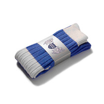 Football Style Long Socks (Royal/White)