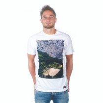 Football Fashion - Ground From Above T-Shirt - White - COPA 6680