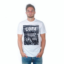 Football Fashion - Invading Pitches Since 1998 T-Shirt - White - COPA 6688