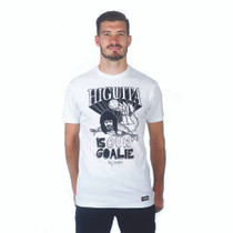 Football Fashion - Higuita Is Our Goalie T-Shirt - White - COPA 6693