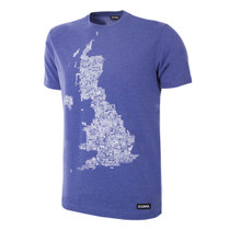 Football Fashion - UK Grounds T-Shirt - Blue - COPA 6665