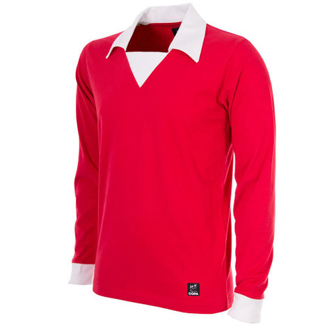 George Best Manchester United Retro Home Shirt 1970's
