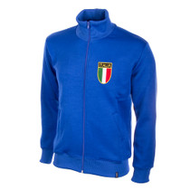Retro Football Jackets - Italy Tracksuit Top 1970's - COPA 803