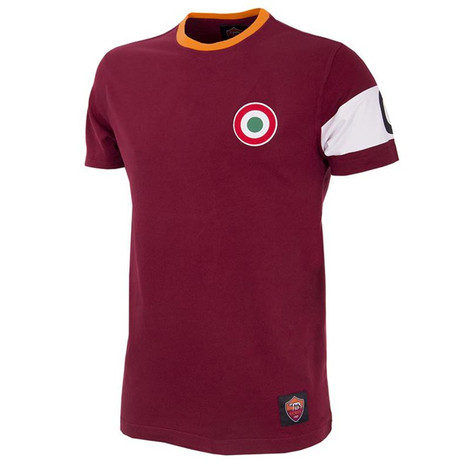 A.S Roma Capitano Kids Retro Shirt