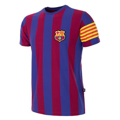 Retro Football Shirts - Barcelona Captain T-Shirt - COPA 6719