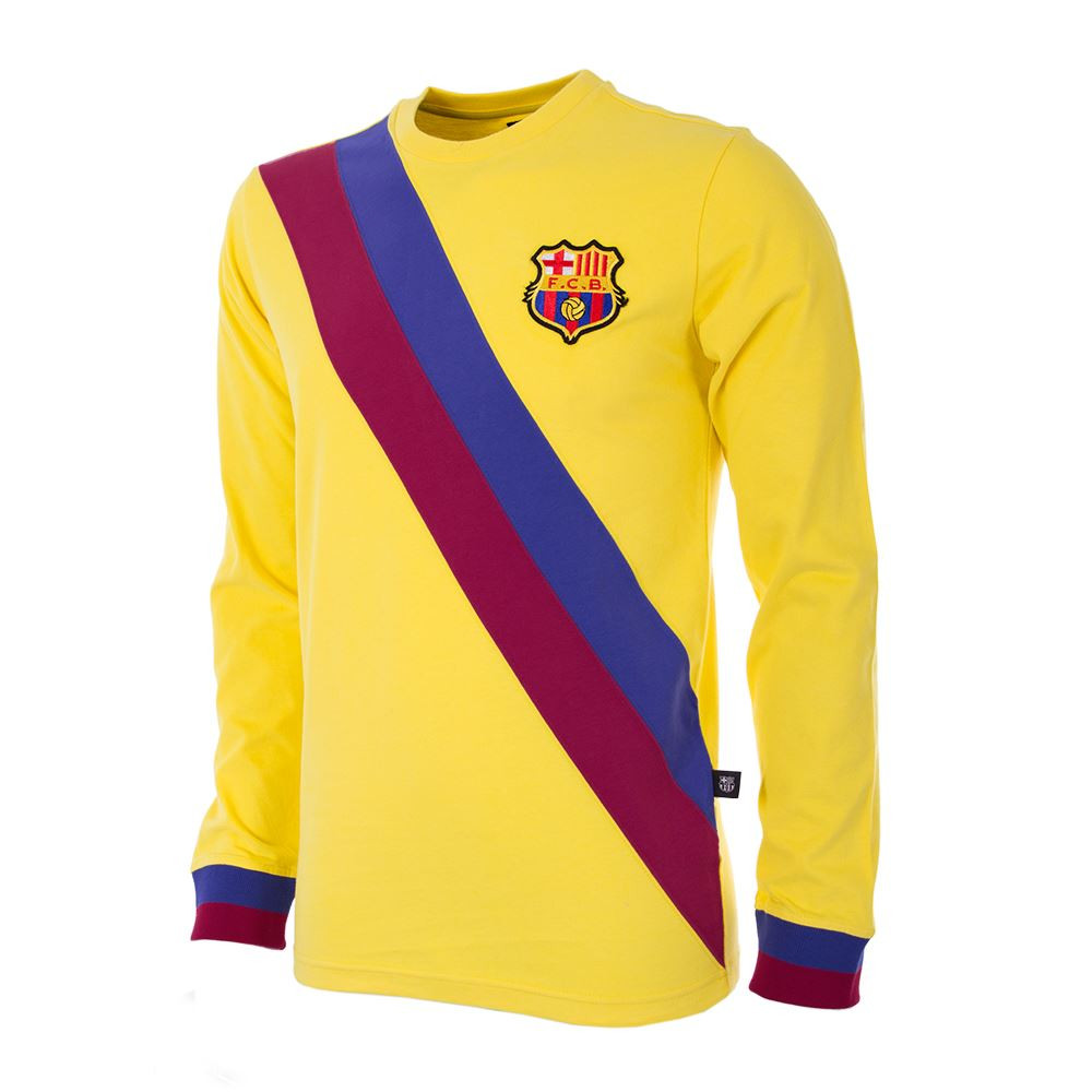 new styles 4f911 dee96 Barcelona Retro Home Shirt 1980/81