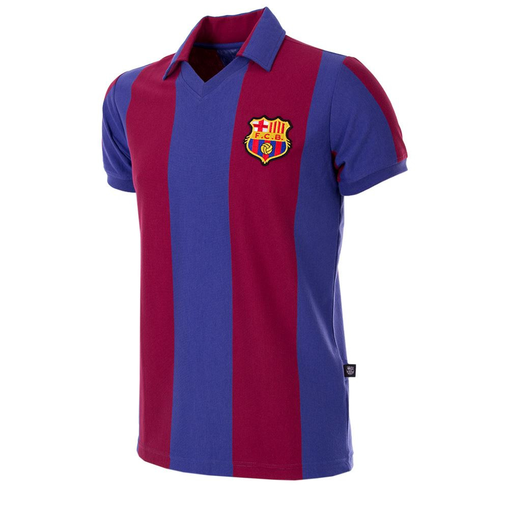 24586a4e5 Barcelona Retro Home Shirt 1980 81