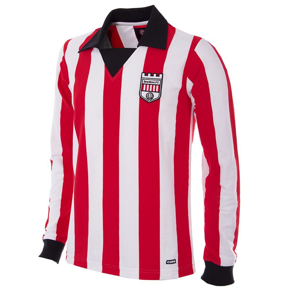 800705e23 Brentford Retro Home Shirt 1974 75