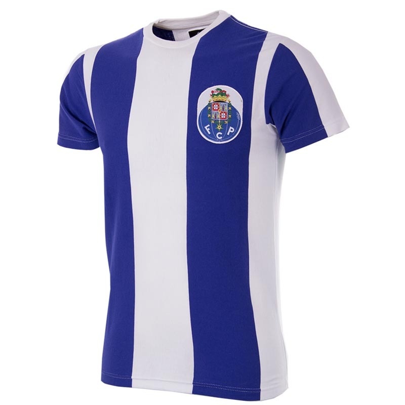 9e5fa0776571e FC Porto Retro T-Shirt | 6yardbox.co.uk
