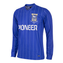 Ipswich Town Retro Home Long Sleeve Shirt 1981/82