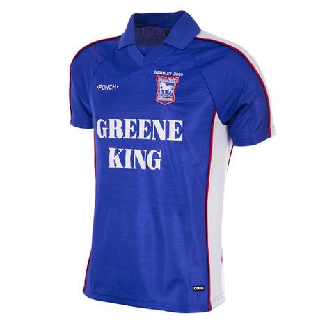 Ipswich Town Retro Home Shirt 1999/00