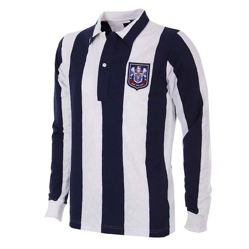 01aec0a7b52 Retro Football Shirts - West Brom Home 53 54 - Navy White - COPA