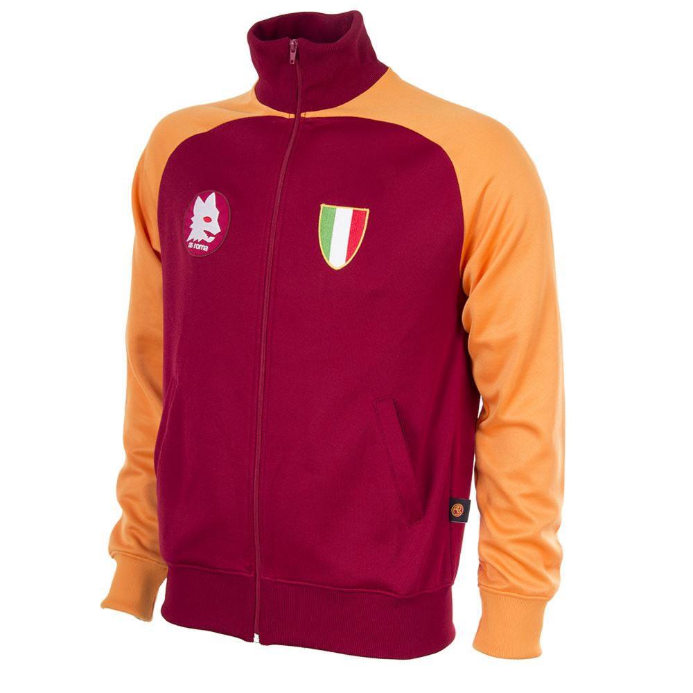 32aaa8116f Retro Football Jackets - A.S Roma Scudetto 1983 - Crimson/Gold - COPA 881