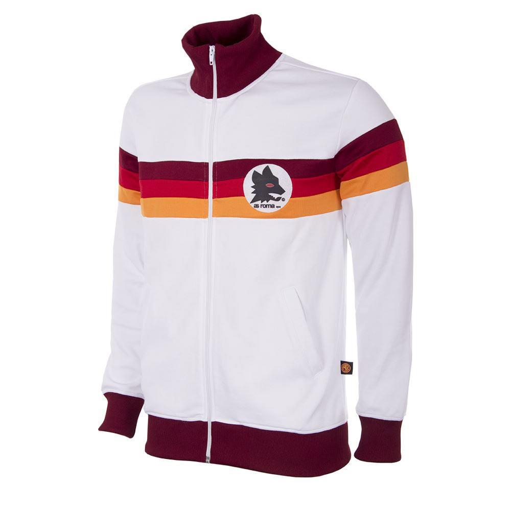 1fe031250f Retro Football Jackets - A.S Roma Tracksuit 1981/82 - White - COPA 886