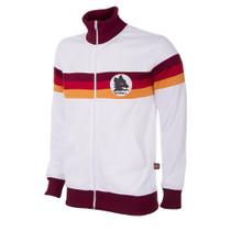 Retro Football Jackets - A.S Roma Tracksuit 1981/82 - White - COPA 886
