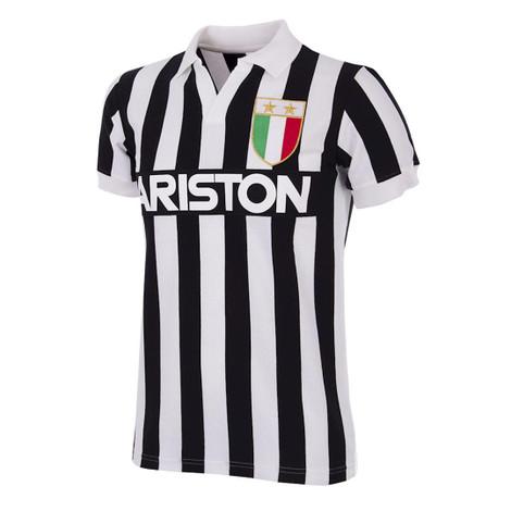 Retro Football Shirts - Juventus Home 1984/85 - Black/White - COPA 147