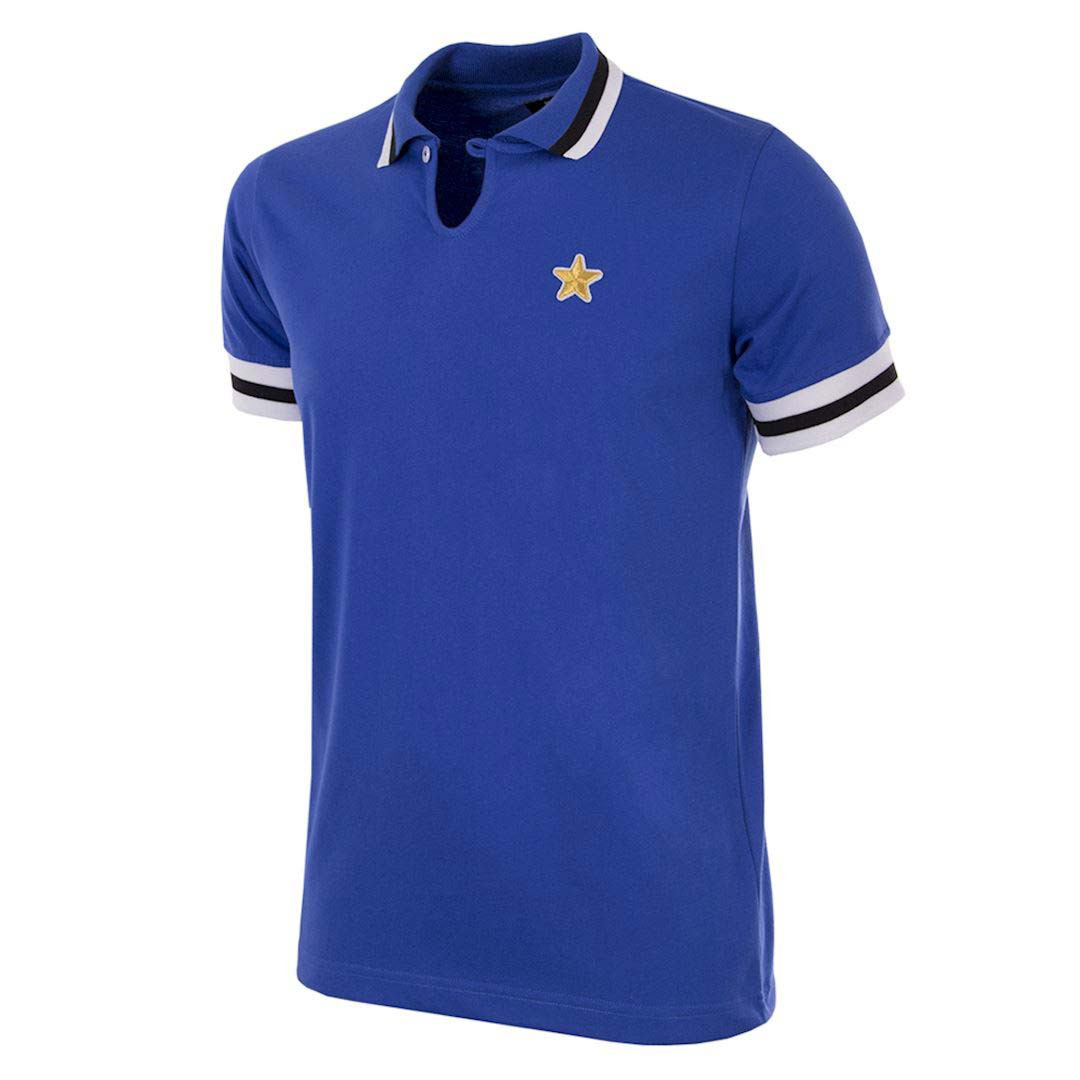 1bcc3290d Retro Football Shirts - Juventus Away 76-77 - Blue - COPA 146