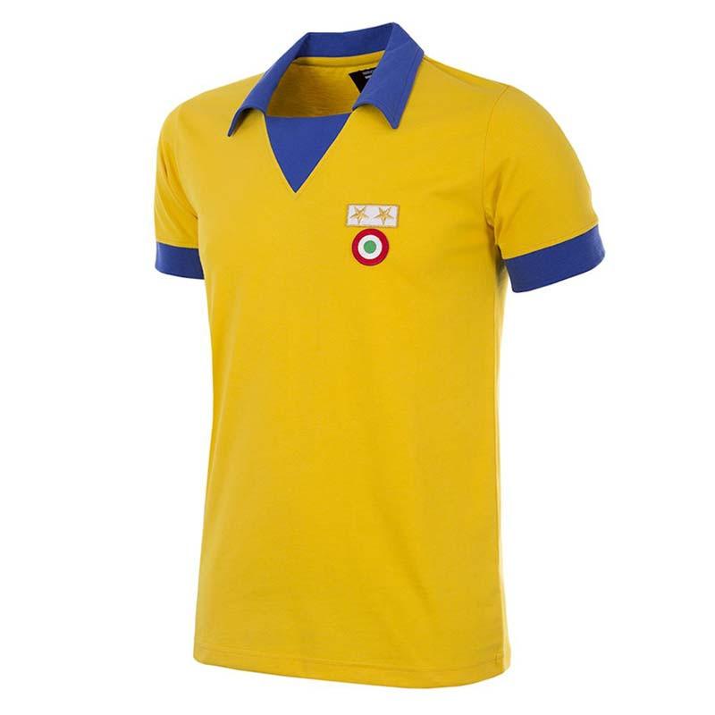 0c91f7e2a Retro Football Shirts - Juventus Away 83 84 - Yellow - COPA 148